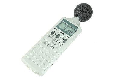 給湯器の騒音測定