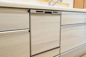食器洗い乾燥機(食洗機)のスライドオープン