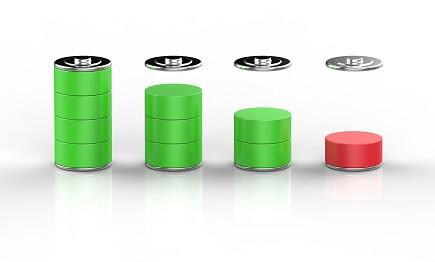 ガスコンロの電池