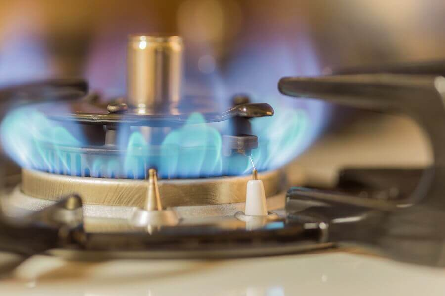 ガスコンロの火がつかない・火が消える対策