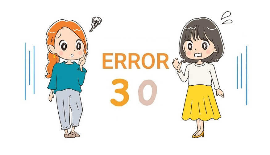 ガスコンロ エラーコード 30