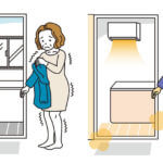 浴室暖房乾燥機、壁掛け、後付け設置