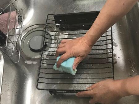 グリル焼き網の掃除方法