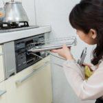 ガスコンロの魚焼きグリルの掃除方法
