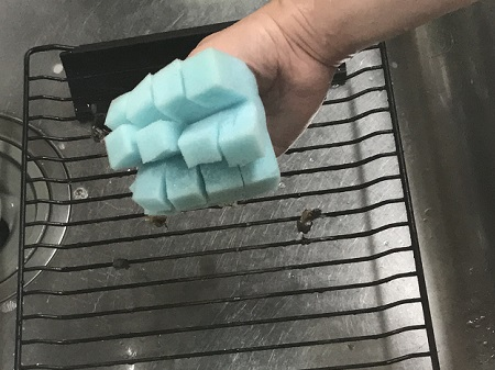 ガスコンロのアイデア掃除グッズ