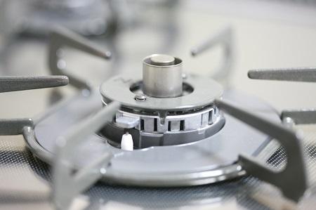 ガスコンロの温度センサー