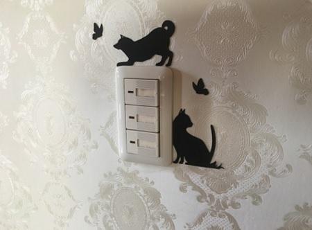 電気・照明のスイッチ