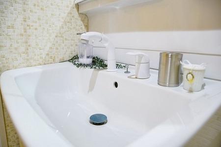 洗面のお湯が出ない(エコキュート)