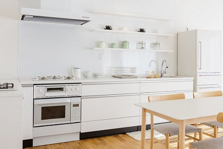 白色・ホワイト|キッチン カラー