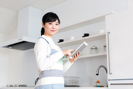 アプリ・スマホ連動で自動調理|ガスコンロ